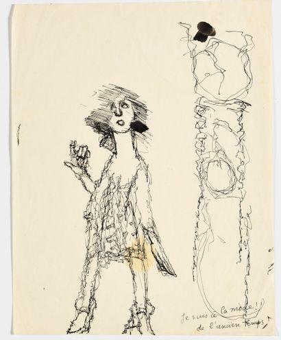 LOUIS SOUTTER (1871-1942) Je suis à la mode...