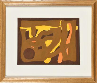 JAMES PICHETTE (1920-1996) Composition sur...