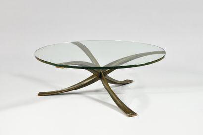 MICHEL MANGEMATIN (Né en 1928) Table basse...