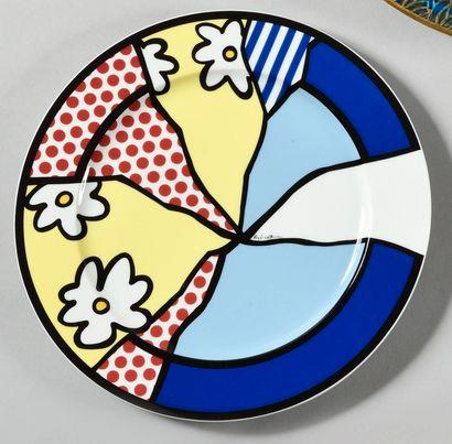 ROY LICHTENSTEIN (1923-1997) Fleurs (Kunstlerteller...