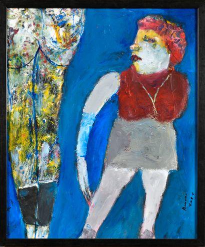 RAMON GRIMALT (Né en 1937) Sans titre Acrylique...