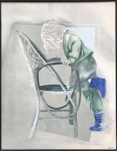 MARIE-FRANCE NOLLET (XXe) Hallucinations...