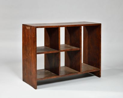 PIERRE JEANNERET (1896-1967) «File rack storage...