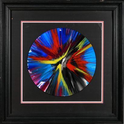 DAMIEN HIRST (Né en 1965) Spin Painting...