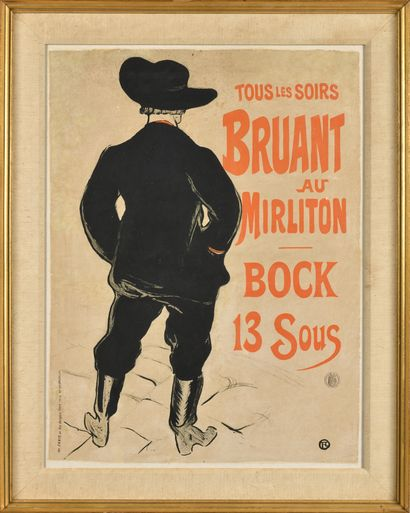 HENRI DE TOULOUSE-LAUTREC (1864-1901), D'après...