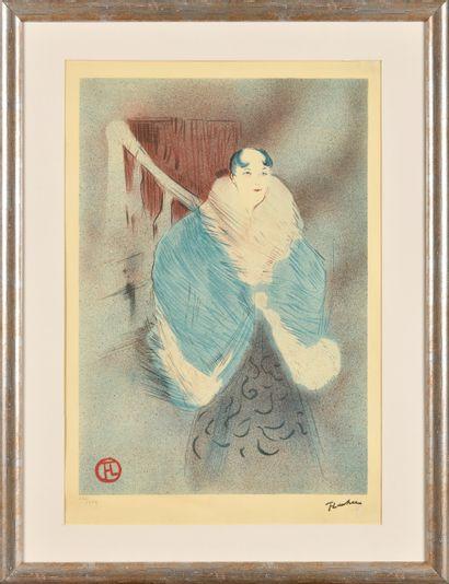 HENRI DE TOULOUSE–LAUTREC (1864 - 1901),...
