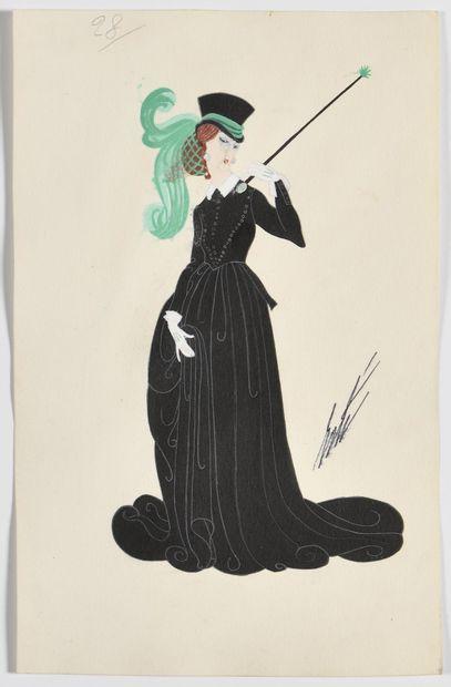 ROMAIN DE TIRTOFF dit ERTÉ (1892 – 1990)...