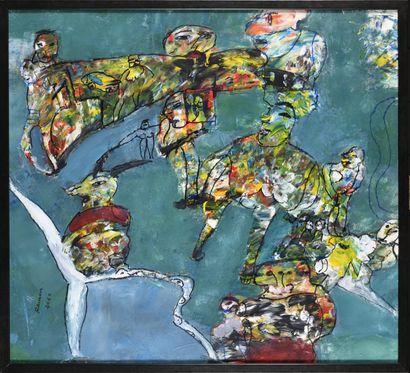 RAMON GRIMALT (Né en 1937) Sans titre (la...
