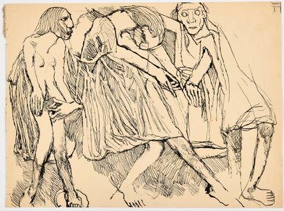 LOUIS SOUTTER (1871-1942) Sans titre (Trois...