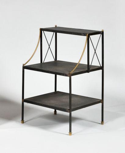 TRAVAIL DES ANNEES 1960 Table téléphone en...