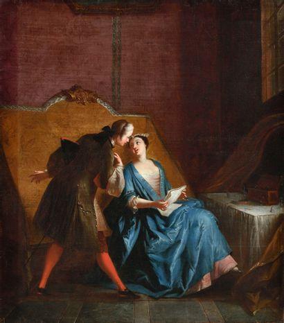 ÉCOLE FRANÇAISE VERS 1730, SUIVEUR DE JEAN-FRANÇOIS...