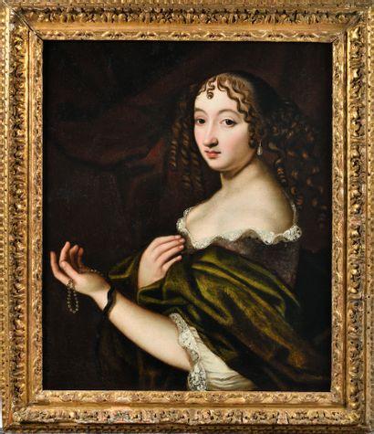 ECOLE HOLLANDAISE VERS 1670, ENTOURAGE D'ABRAHAM...