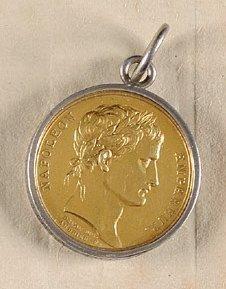 Médaille du Couronnement de Napoléon 1er à Paris, Ayant appartenu à Jérôme Marie...