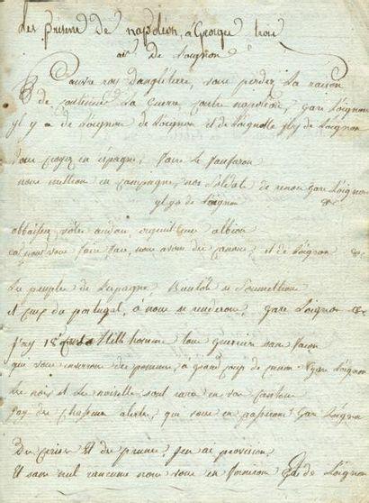 CHANTS DU GROGNARD AU BIVOUAC. - Ensemble...