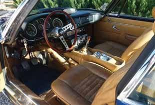 1968 MASERATI Mistral 4000. Au Salon de l'Automobile de Turin 1963, Maserati dévoile...