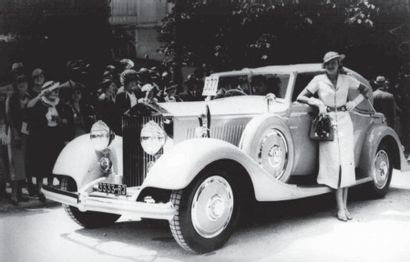 1934 ROLLS ROYCE type GOSHAWK Cabriolet Fernandez & Darrin Ex-Comtesse Van Limburg-StirumHenry...