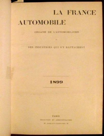 La France Automobile 1899, 4 ème année, 52...