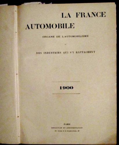 La France Automobile 1900, 5 ème année, 52...