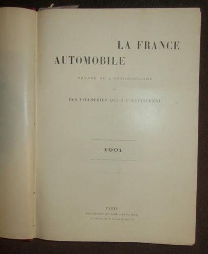 La France Automobile 1901, 6 ème année, 52...