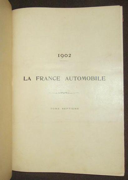 La France Automobile 1902, 7 ème année, 52...