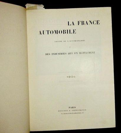 La France Automobile 1904, 9 ème année, 52...