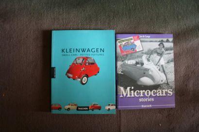 Microcar, lot comprenant Kleinwagen par un...