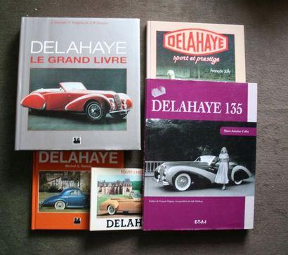Delahaye, lot comprenant Delahaye, Sport...
