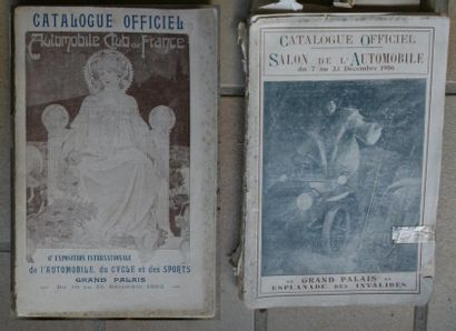 A.C.F, Automobile Club de France, Catalogue...