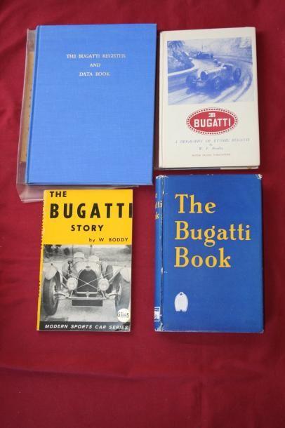 Register & Data of Bugatti Automobiles, par...