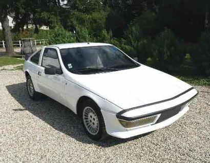 1982 MATRA Murena C'est pour remplacer la Bagheera, que Matra présente la Murena...