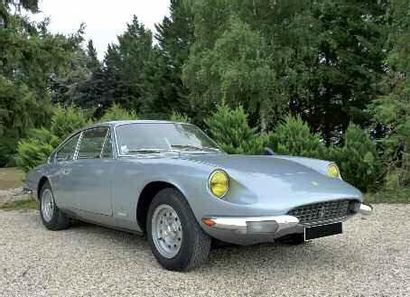 1969 FERRARI 365 GT 2+2 Avec la 250 GTE, Ferrari s'est lancé, dès 1960, dans la fabrication...