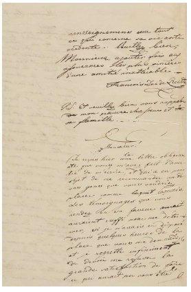 REICHSTADT (Napoléon François Charles Joseph Bonaparte, duc de) Un précieux souvenir...