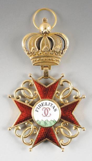 BADE ordre de la fidelite créé en 1715. Bijou...