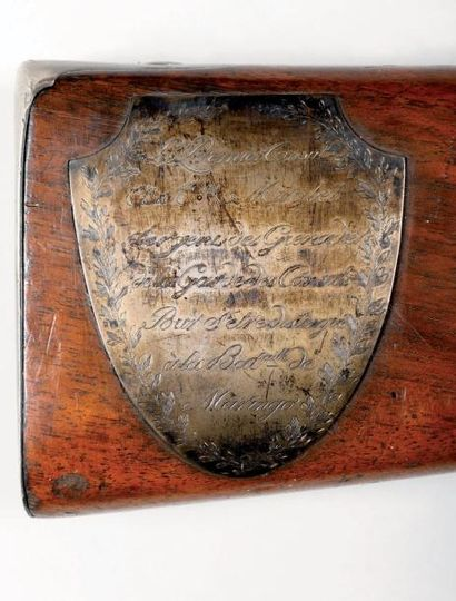 Fusil d'honneur de Magloire MIRABEL, sergent grenadier de la Garde des Consuls....