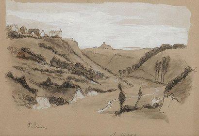 François Richard de MONTHOLON (1856-1940)