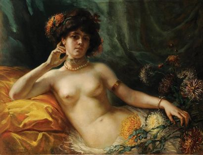 Francisque DESPORTES (Lyon 1849 - 1909)