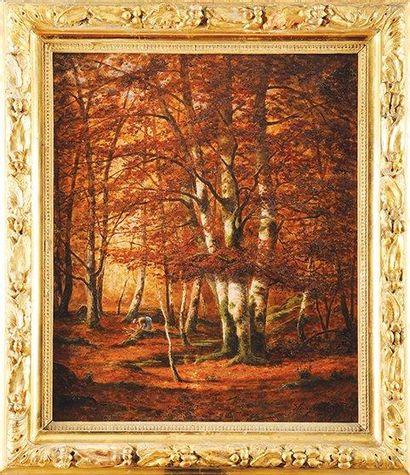 Adrien SCHULZ (1851 - 1931) Plateau de la mare aux fées en novembre Sur sa toile...