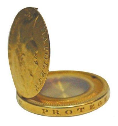 Monnaie-boîte à secret 40 Francs en or Napoléon...