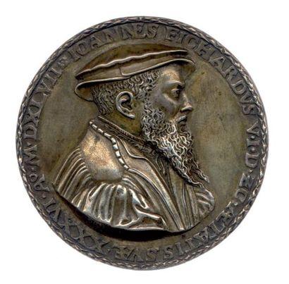 Médaille en argent uniface allemande NUREMBERG...