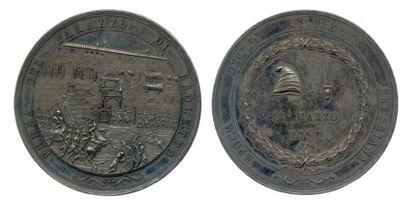 Médaille en argent commémorative de la Prise...