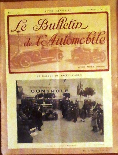 LE BULLETIN DE L'AUTOMOBILE