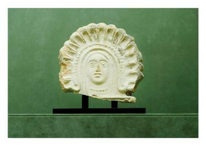 Etrurie, IVème siècle avant J.-C. ANTÉFIXE:...