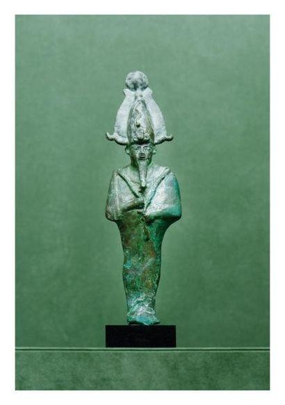 Égypte, époques tardives. OSIRIS. Bronze...