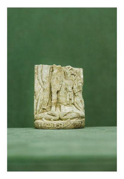 Égypte, époque Ptolémaïque. STÈLE fragmentaire....