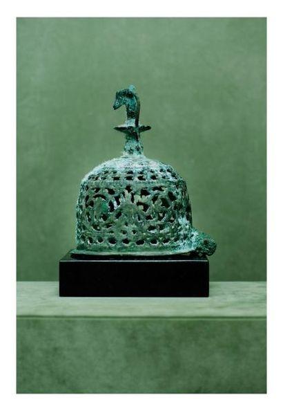 Égypte, époque Copte. BRULE PARFUMS. Bronze...