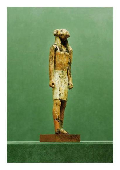 Égypte, Nouvel Empire probablement. STATUE...