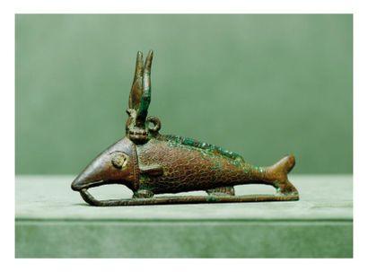 Égypte, époque Saïte OXYRHINQUE - amulette....
