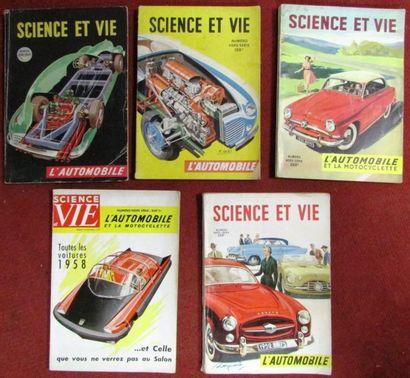 Lot de 5 numéros de Science et Vie sur l...