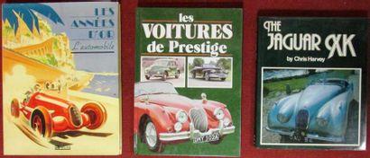 «Les années d'or, l'automobile»; «Les voitures...