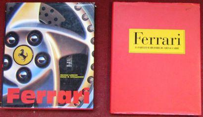 Lot Ferrari, «La fabuleuse histoire du cheval...